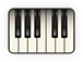 Logo icon piano solo large